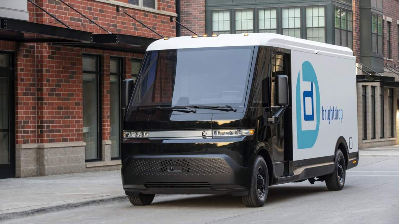 GM BrightDrop marks production with a smaller electric van and Verizon deal