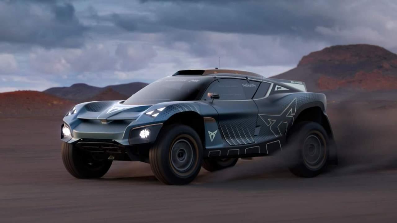 Cupra Tavascan Extreme E Concept previews incoming electric SUV