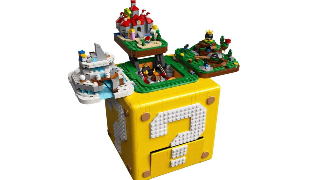 LEGO Super Mario 64 set is more than meets the eye