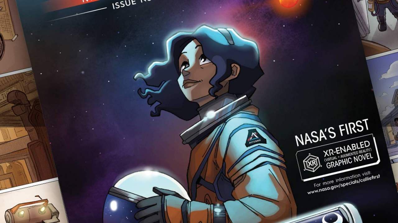 NASA's first interactive graphic novel is free and includes AR features
