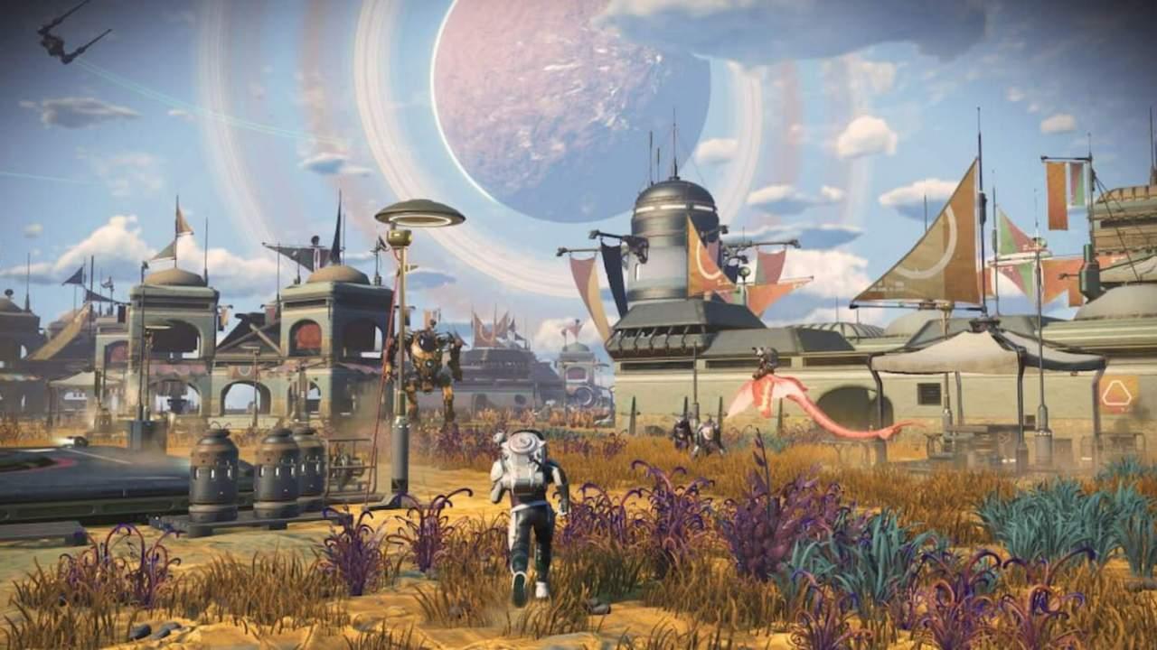 No Man's Sky Frontiers update adds planetary settlements, overhauls base building