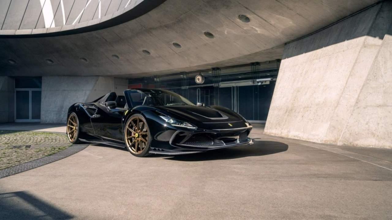 Novitec Ferrari F8 Spider has an 802HP turbo V8 engine
