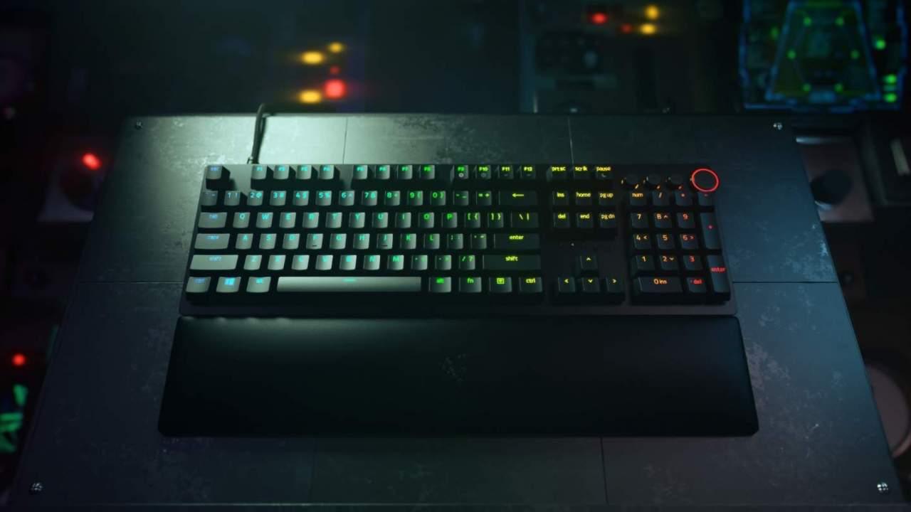 Razer Huntsman V2 keyboard makes big latency boasts while cutting back on noise