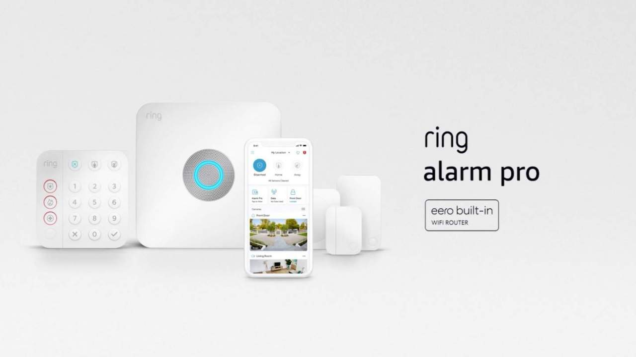 Ring Alarm Pro puts a WiFi router in your Ring base station