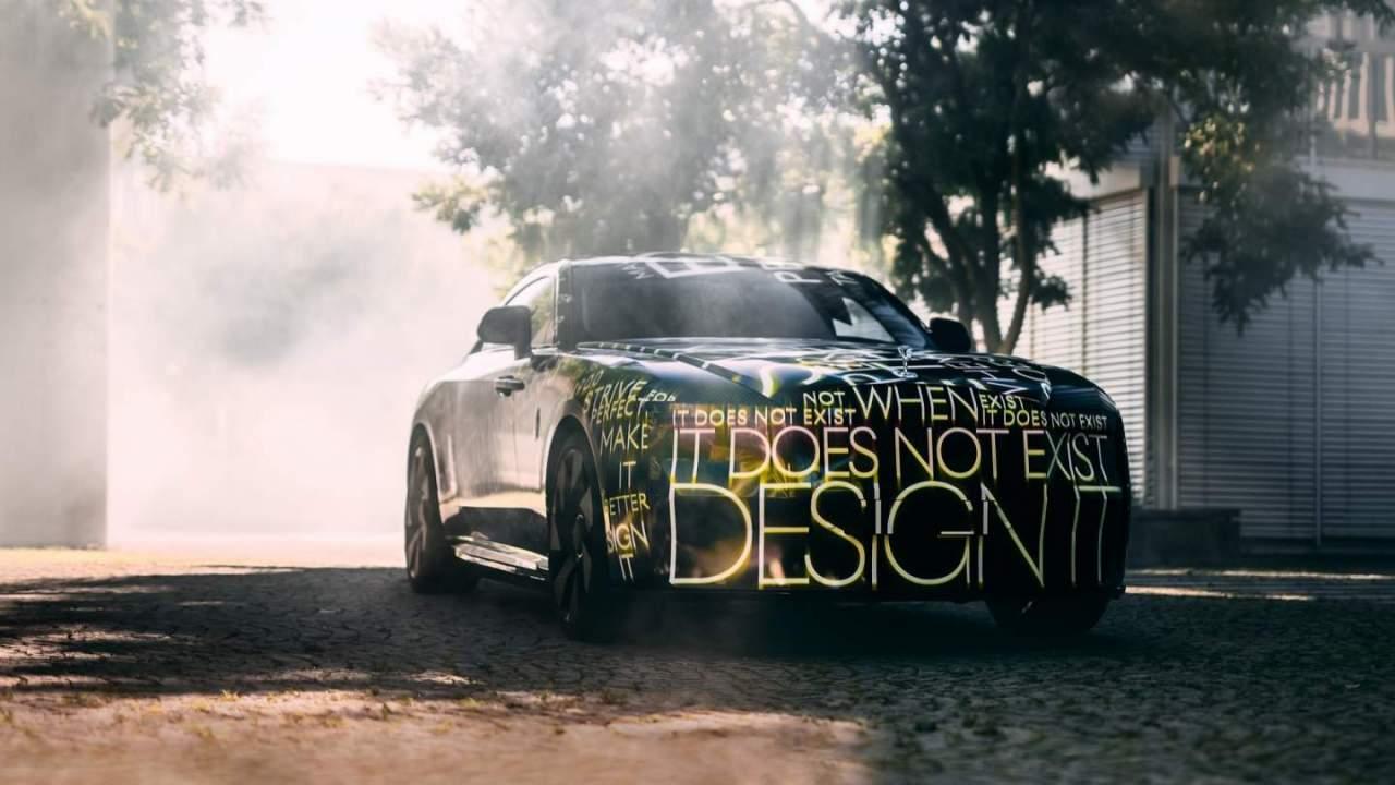 All-electric Rolls-Royce Spectre confirmed as EV roadmap revealed