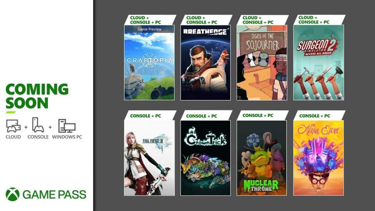 Xbox Game Pass picks up Breathedge, more Final Fantasy to start September