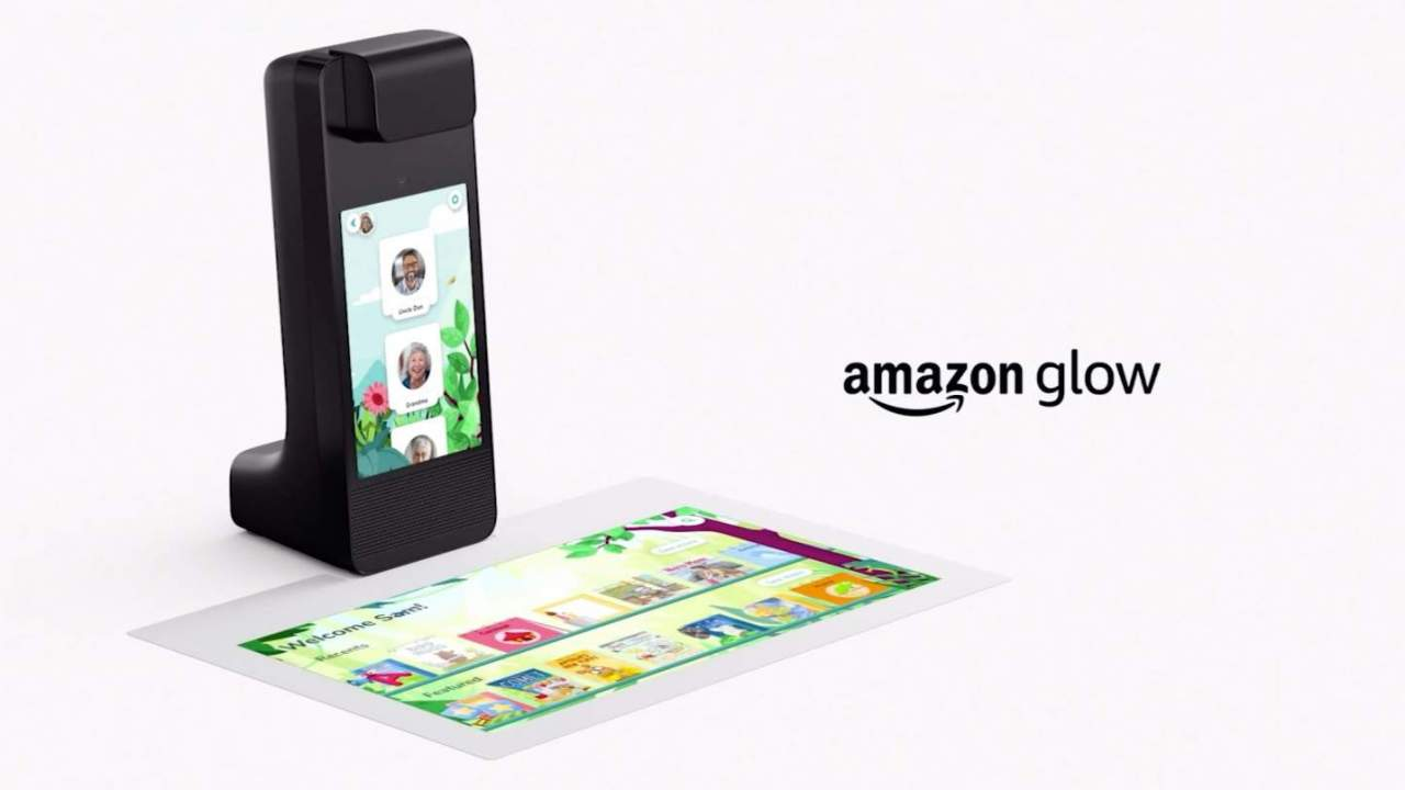 Amazon Glow is a kids video camera with a game projector built in