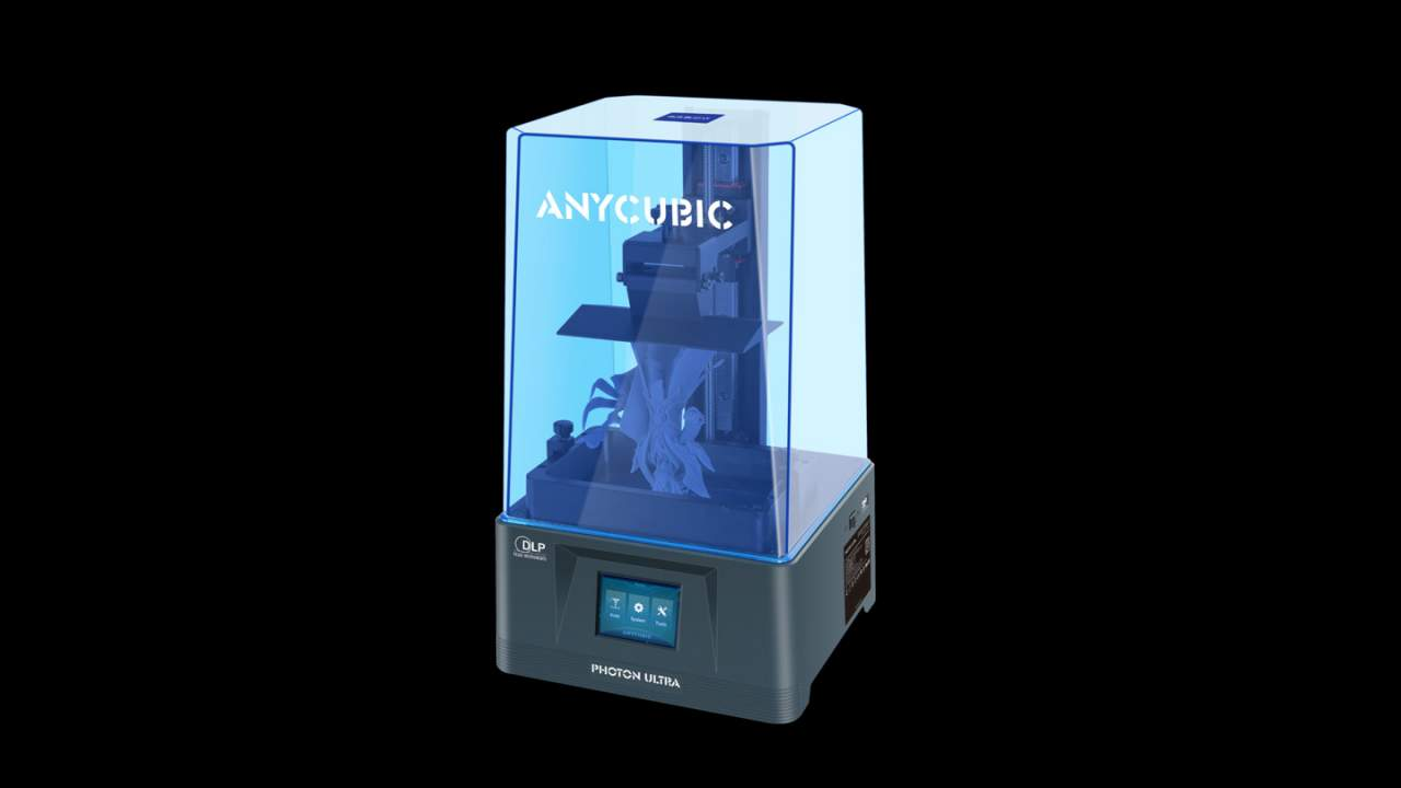 Anycubic Photon Ultra Kickstarts low-cost DLP 3D printer