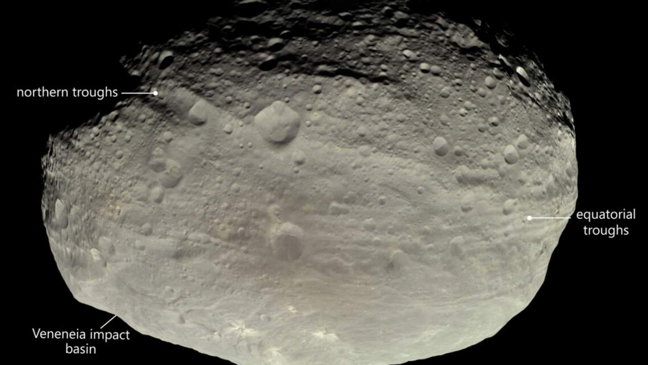 New theory proposed about asteroid Vesta