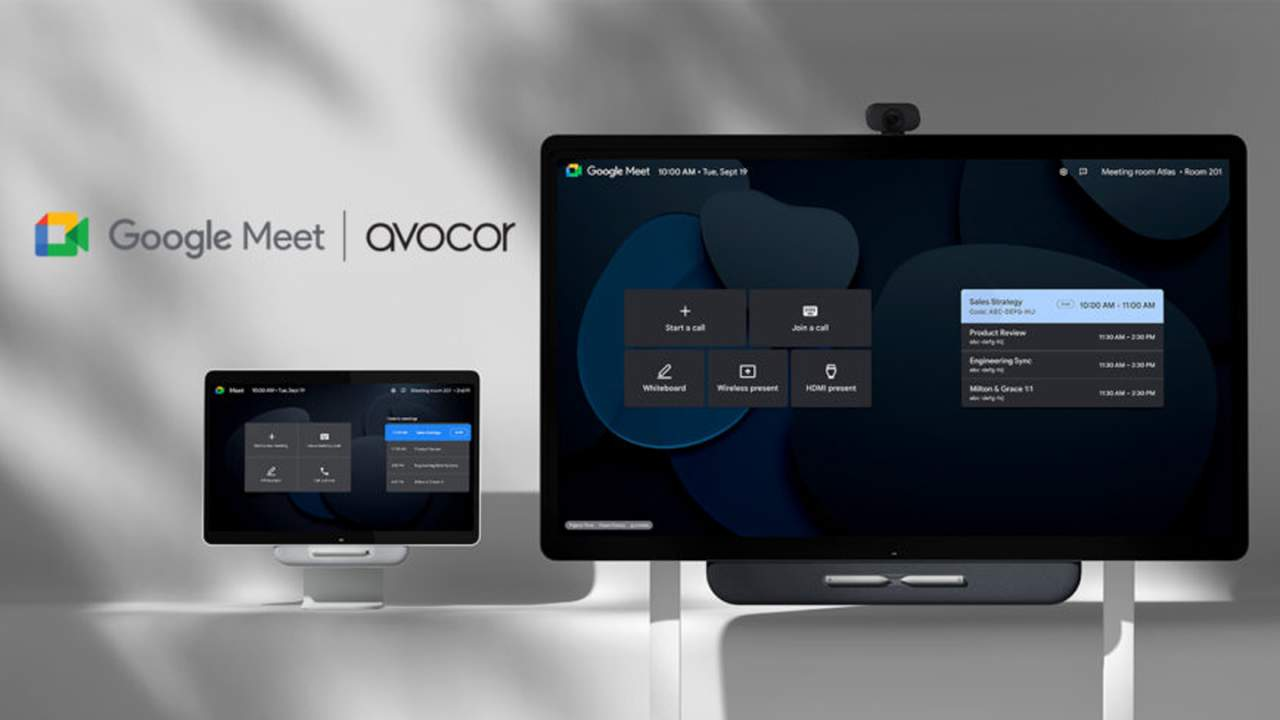 Avocor reveals new video conferencing solutions for Google Meet