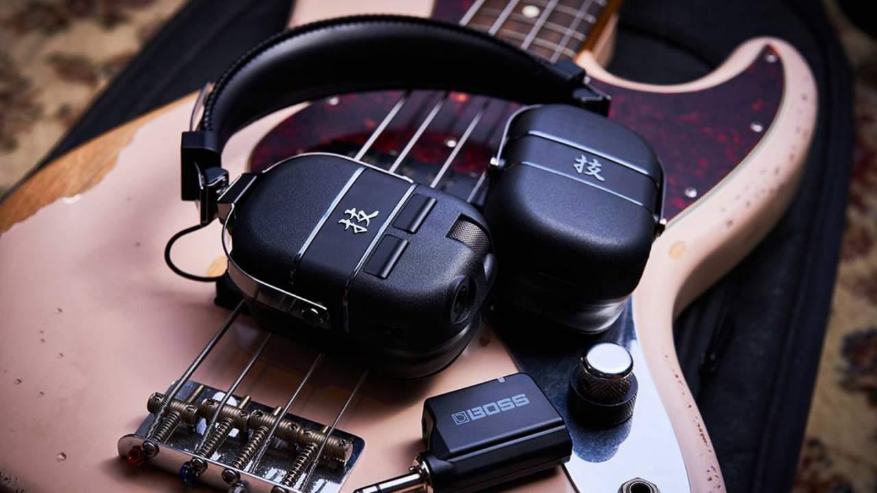 Boss Waza-Air Bass headphones pack amp features for bass guitarists