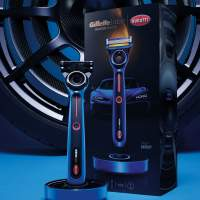 Bugatti and GilletteLabs team on a Special Edition Heated Razor