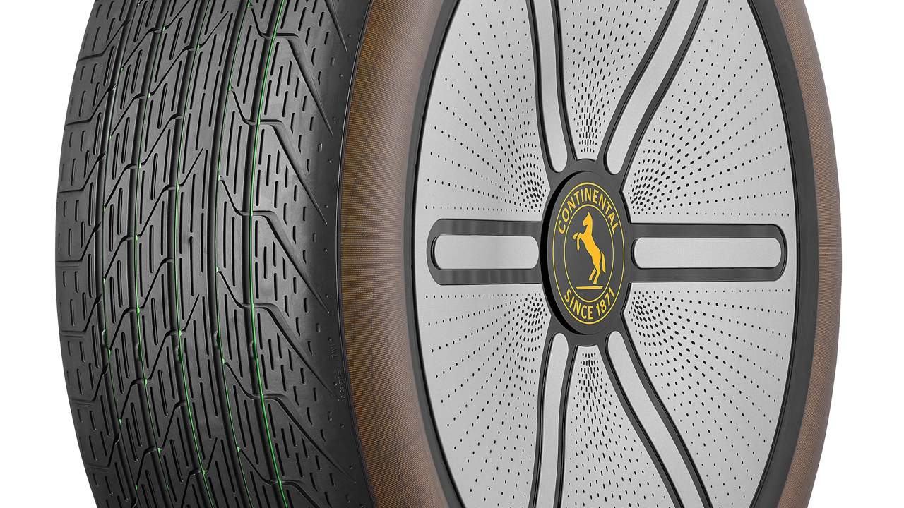 Continental reveals a new green tire concept