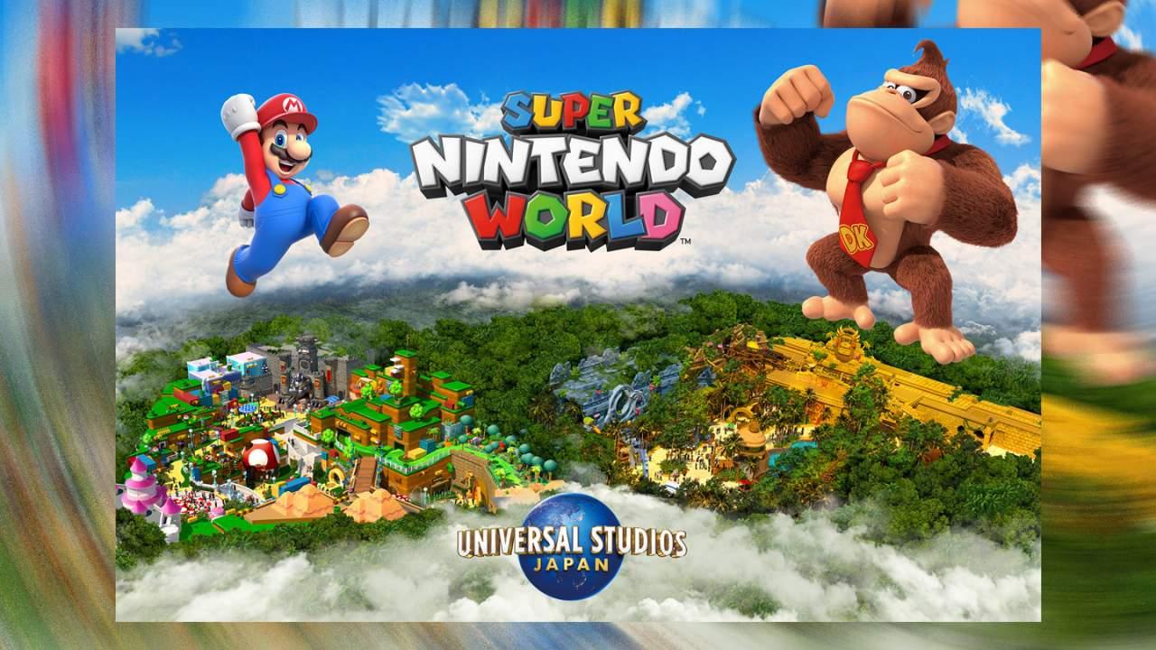 Massive Super Nintendo World park Donkey Kong expansion confirmed