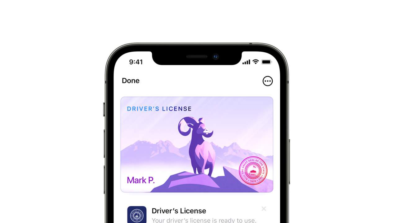 Apple Wallet driver's license and ID states start the list