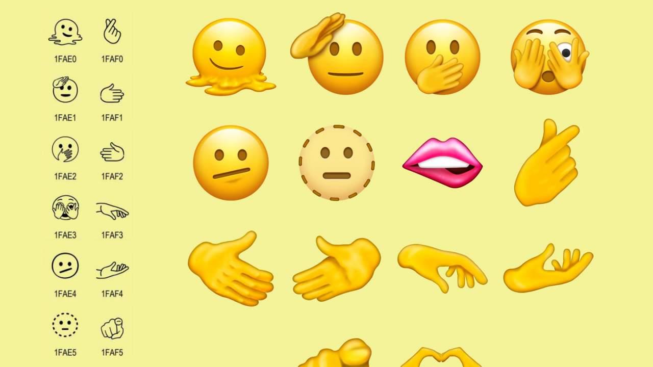 Unicode 14.0 adds new emojis