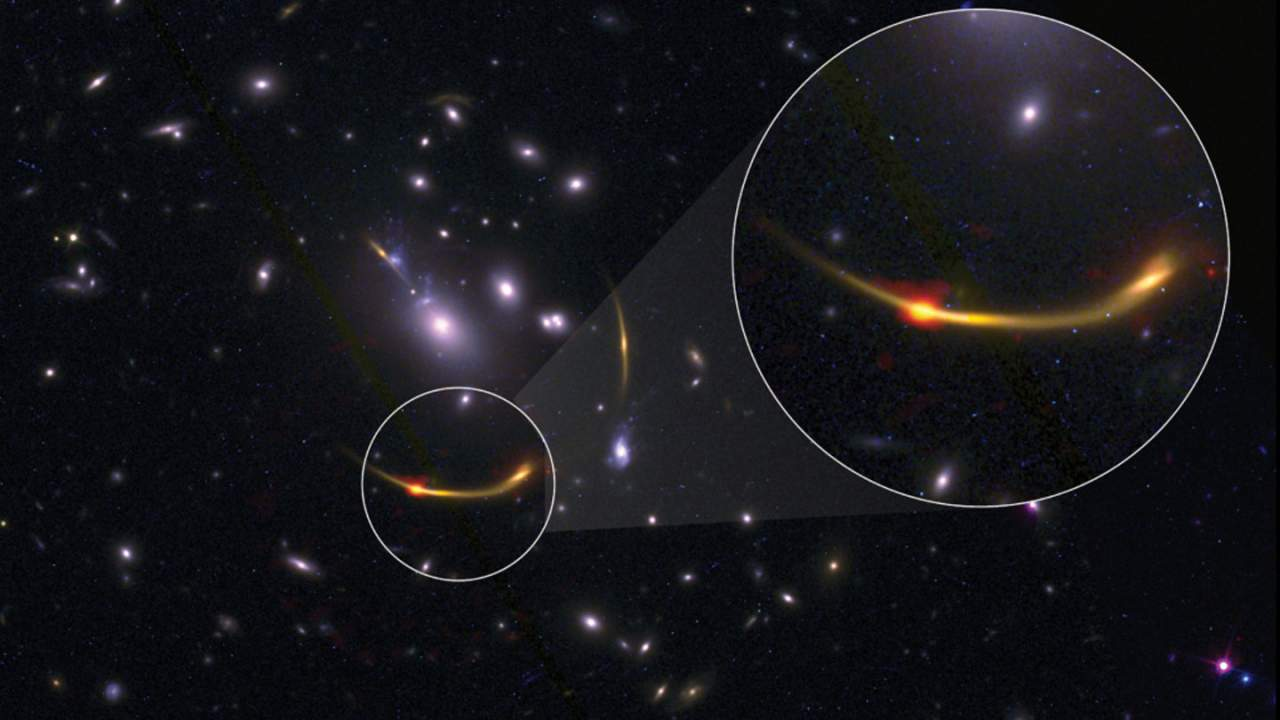 Astronomers discover six early galaxies that have run out of fuel