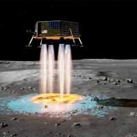 FAST lets lunar landers create their own landing pad before touchdown