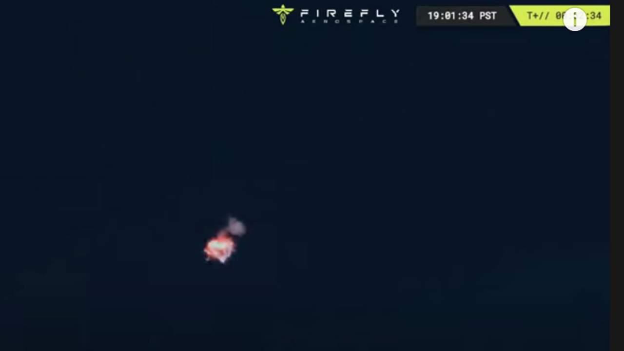 Firefly Aerospace orbital rocket fails to reach orbit