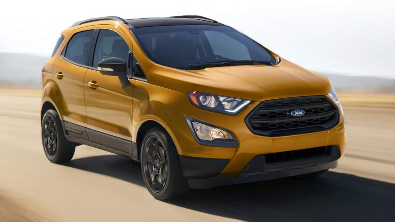 No more Ford EcoSport in the US