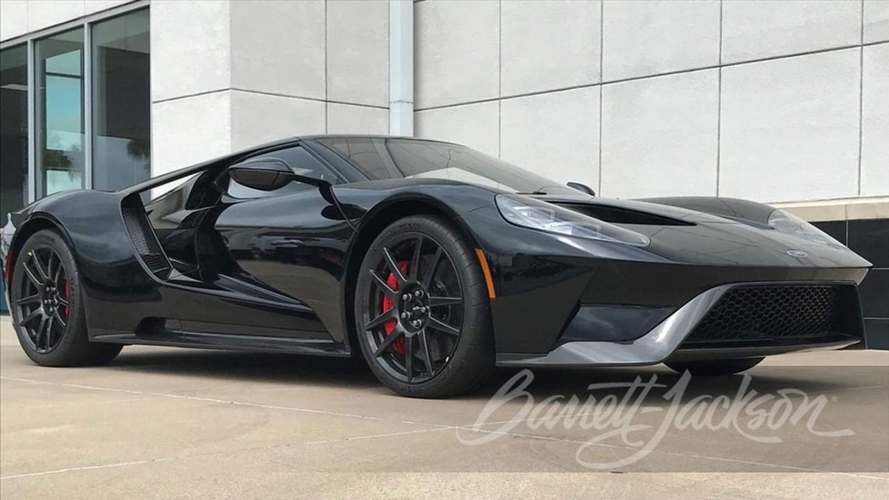 2019 Ford GT Lightweight brings over $1 million at auction