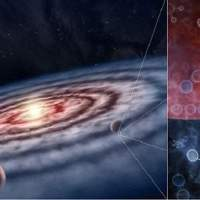 Organic molecules may be more widely distributed in the galaxy than previously believed