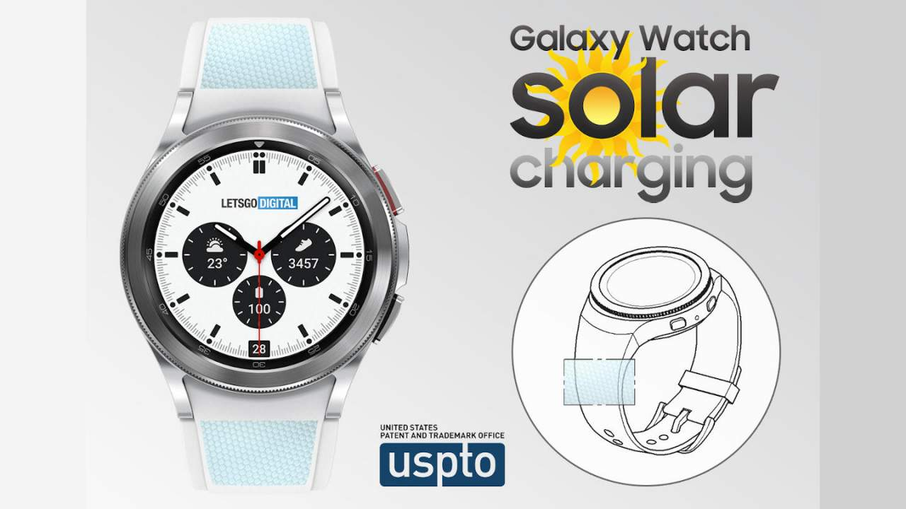 Samsung Galaxy Watch patent points to a solar charging strap