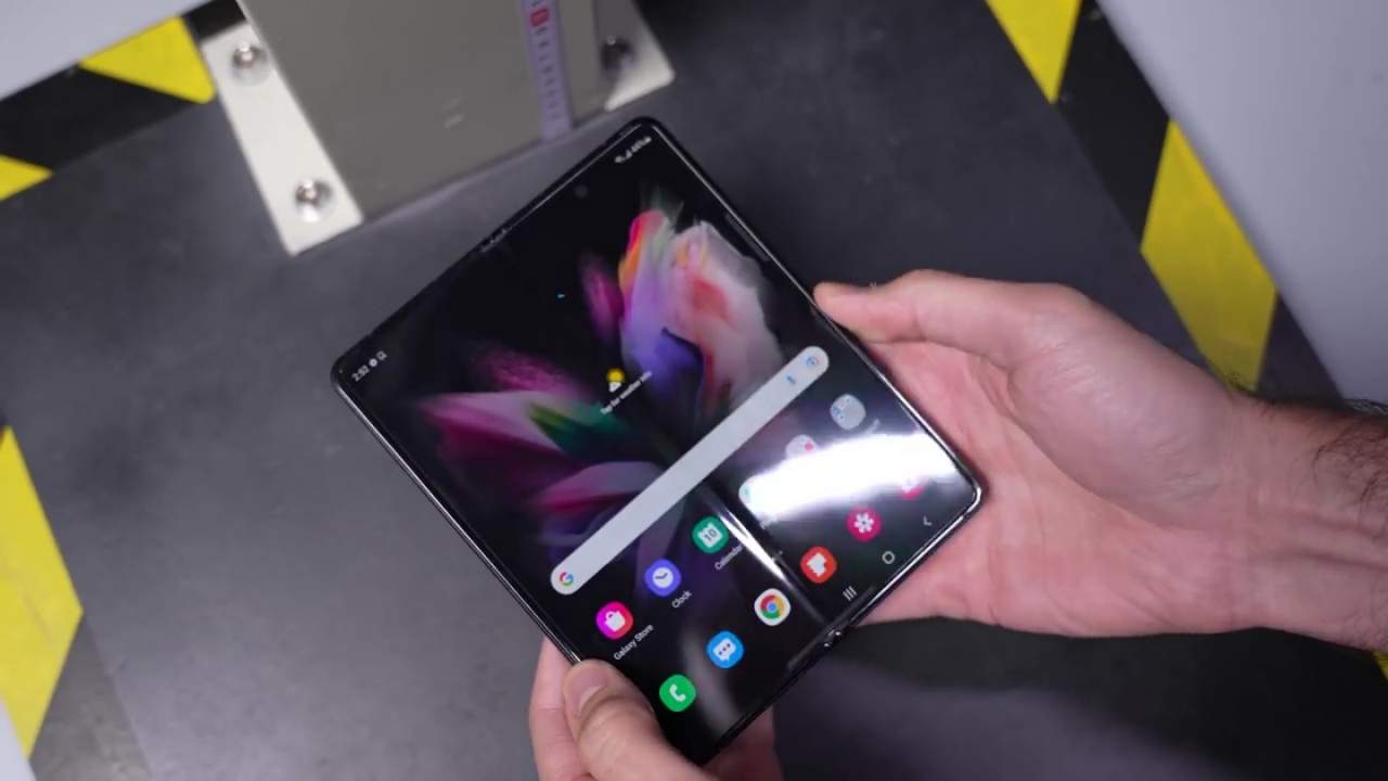 Galaxy Z Fold 3 drop tests prove Samsung's boast again