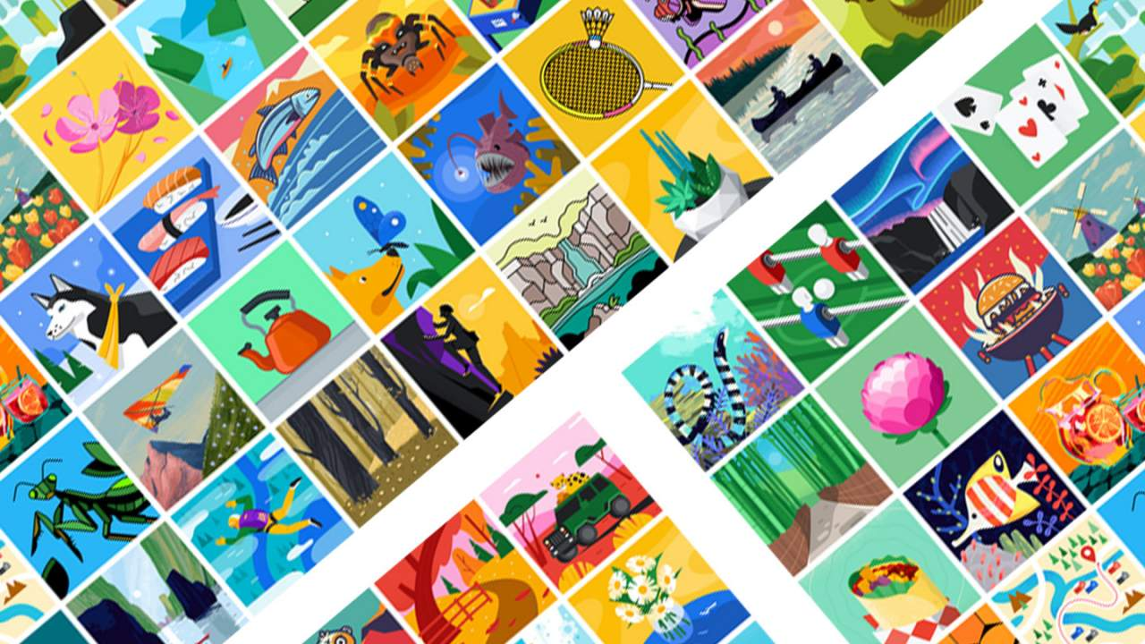 Claim your Google Illustrations this afternoon