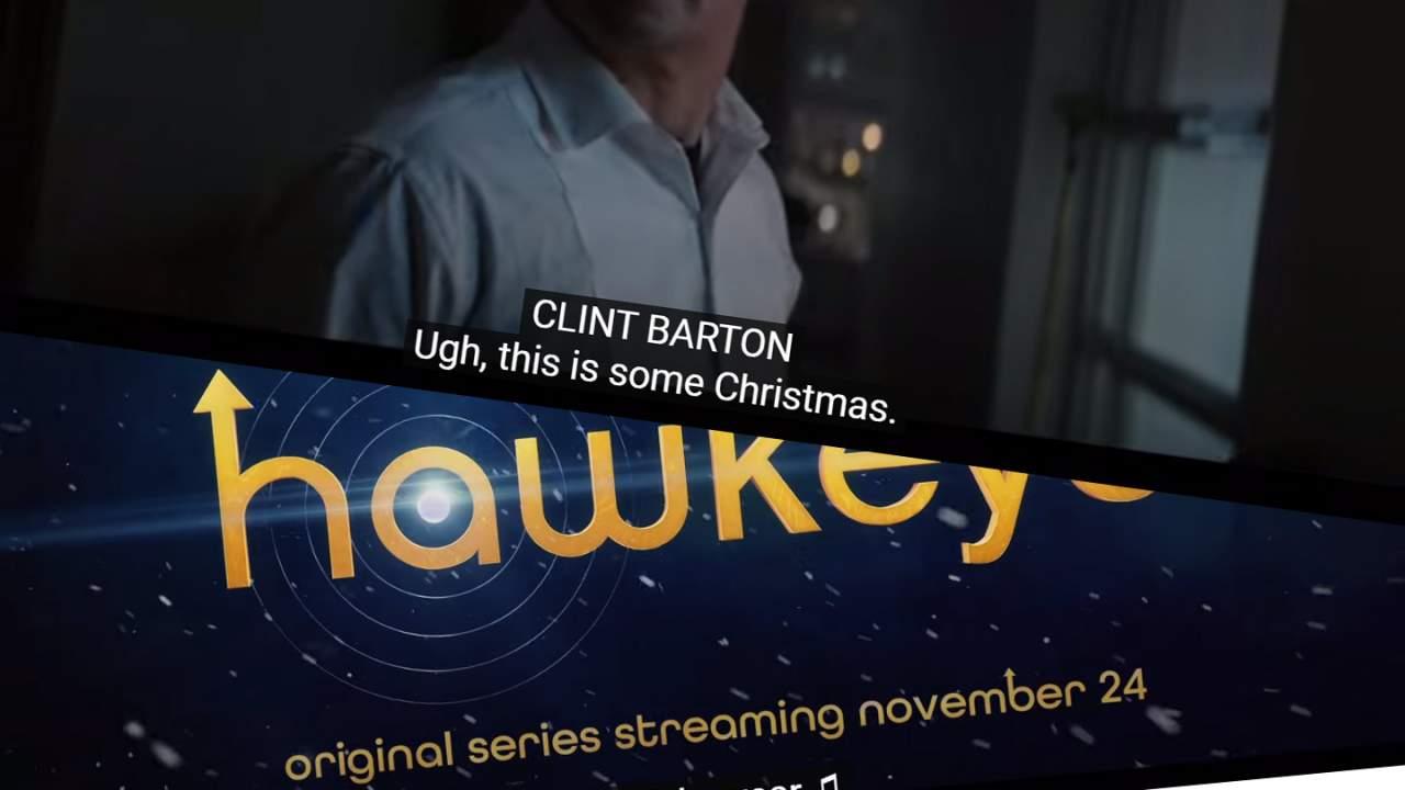 Hawkeye trailer shows a fun-loving Christmas romp for Disney+
