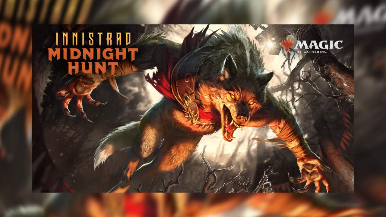 Magic The Gathering Innistrad Midnight Hunt visual spoilers getting spooky