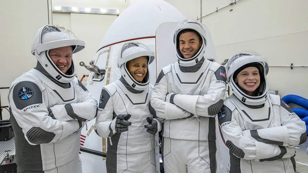 Inspiration4 crew returned safely to Earth