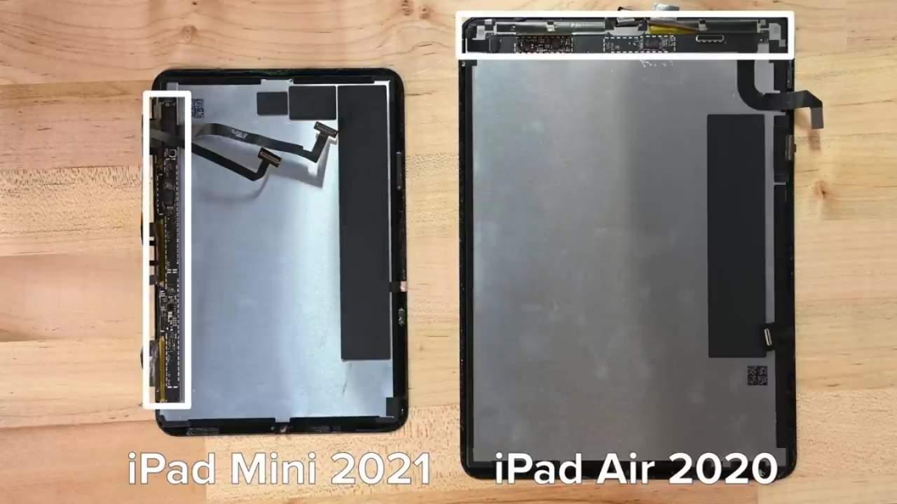 iPad mini 6 iFixit teardown explains jelly scrolling behavior