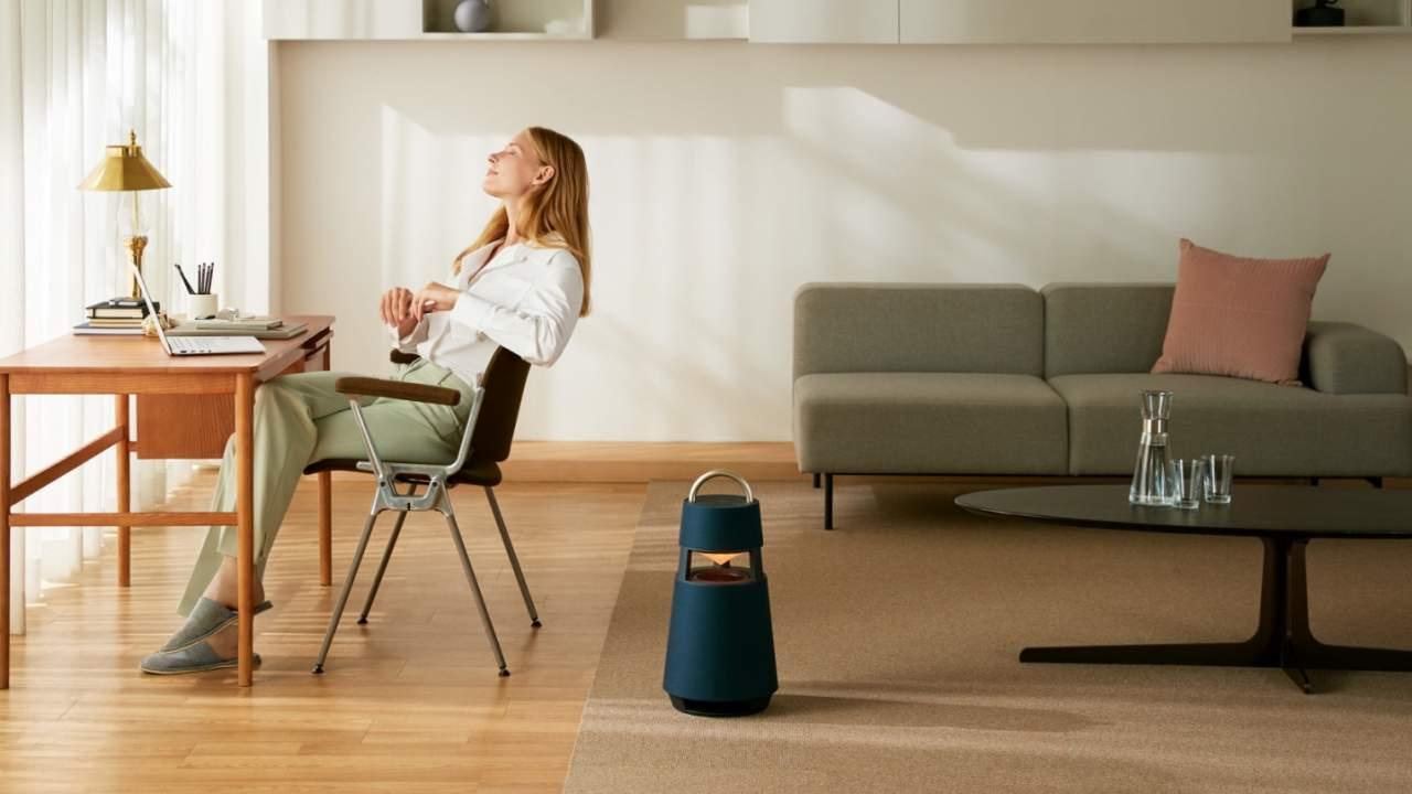 LG XBOOM 360 Bluetooth speaker masquerades as a bulky lantern