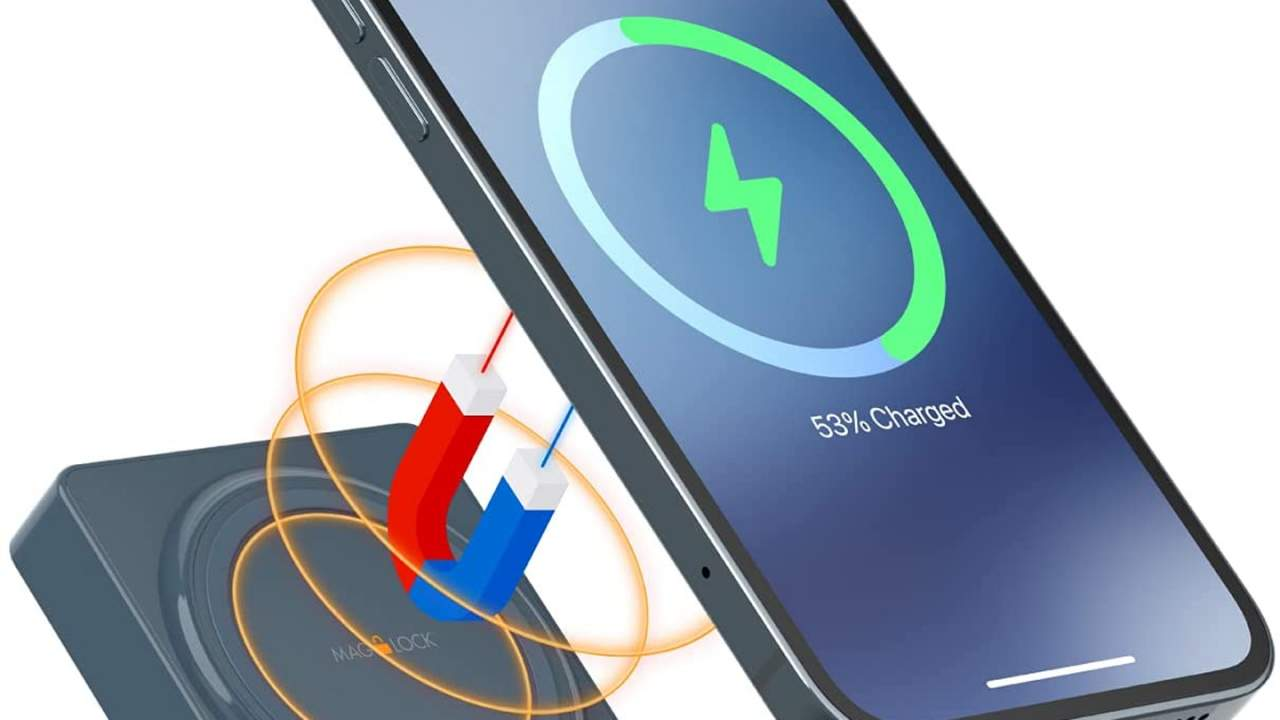 myCharge MagLock Superhero extends iPhone 12 runtime to 48 hours