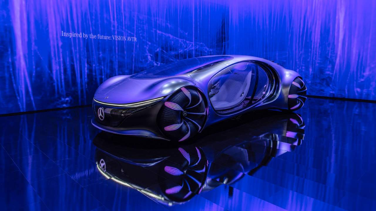 Mercedes-Benz VISION AVTR systems can be controlled with the mind