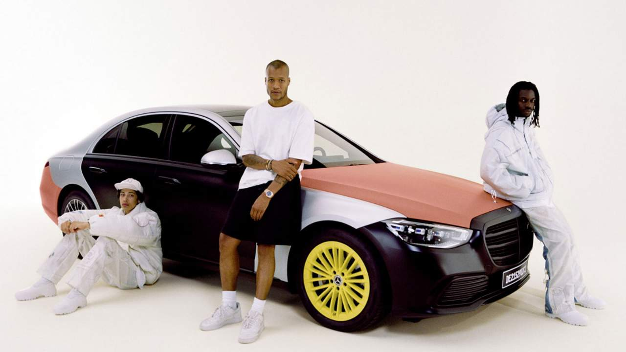 Mercedes-Benz turns airbags into clothing with a fashion designer