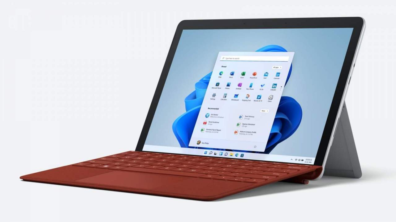 Surface Go 3: Microsoft puts Windows 11 on a $400 tablet