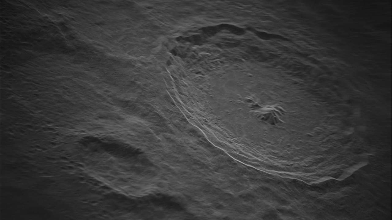 Details of the Tycho moon crater revealed by new radar tech