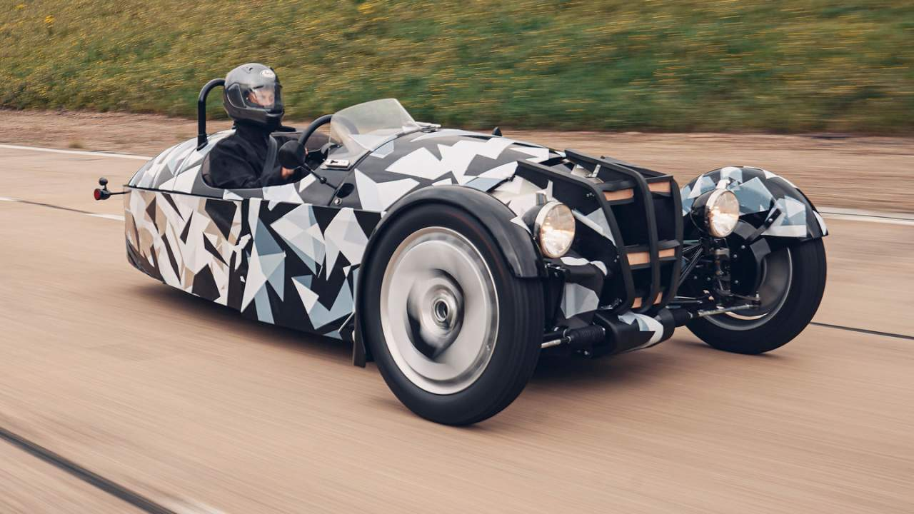 New Morgan 3 Wheeler is an all-new design with Ford power