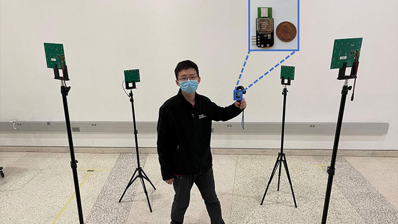 Engineers tweak ultra-wideband tech for real-time 3D motion capture