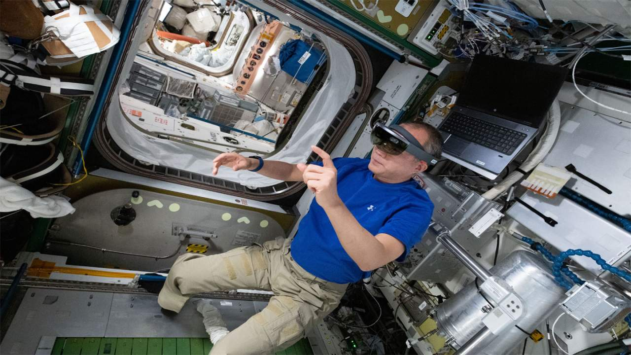Augmented reality applications are helping astronauts repair the ISS