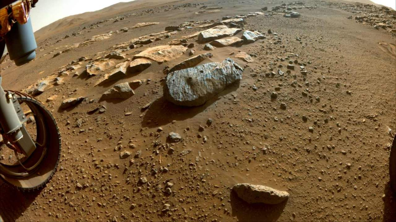 NASA now has two Mars rock samples with third target already selected