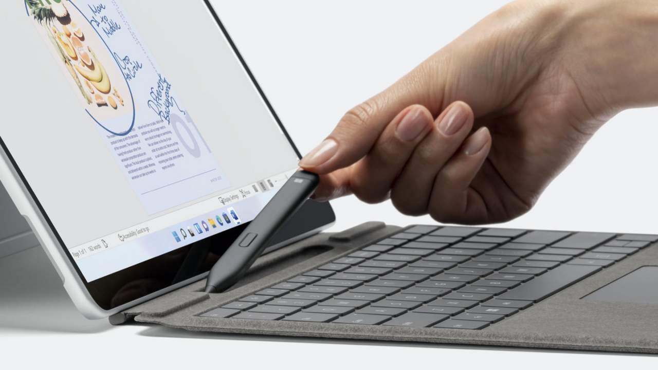 Surface Slim Pen 2 revealed with built-in haptic motor