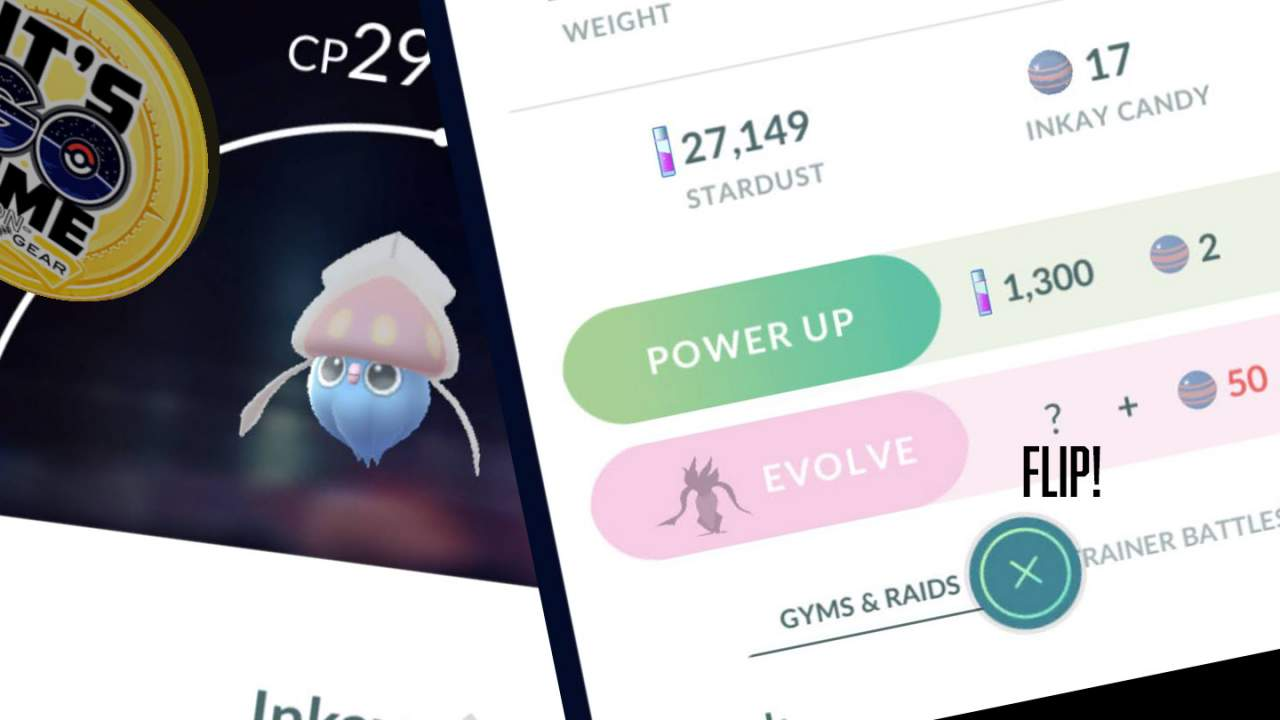 Pokemon GO Inkay evolution in focus: Psychic Spectacular
