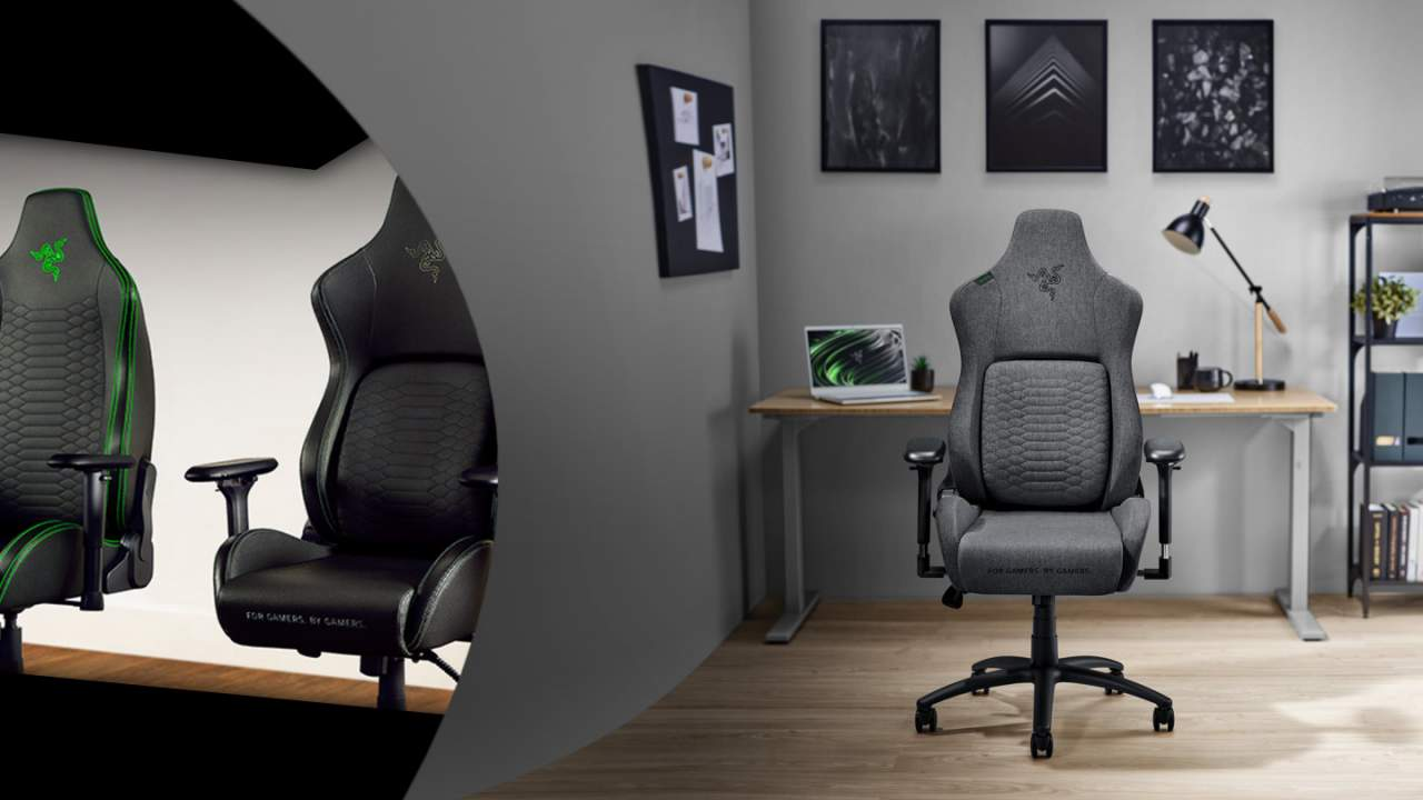 Razer Iskur Fabric and XL brings total chairs to 6