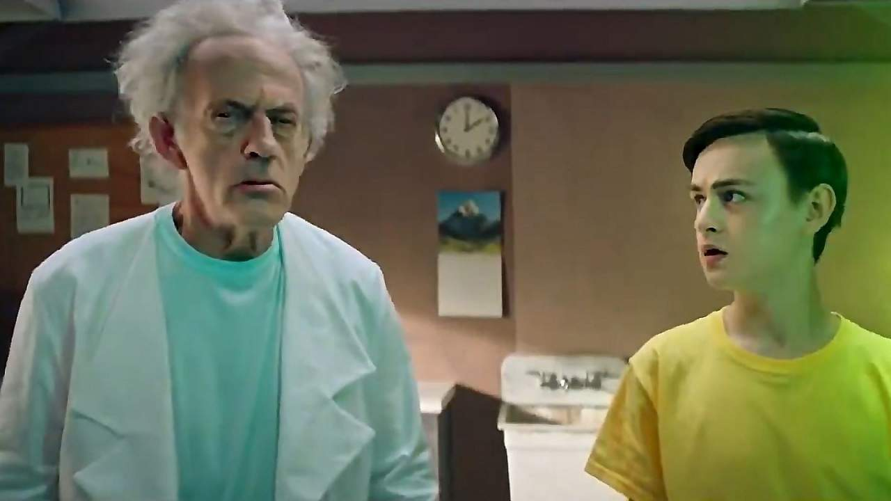 Rick and Morty live-action promo brings in Christopher Lloyd as Rick