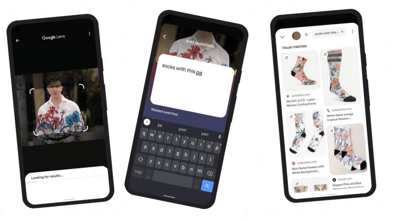Google Lens and Search gets visual with magic context