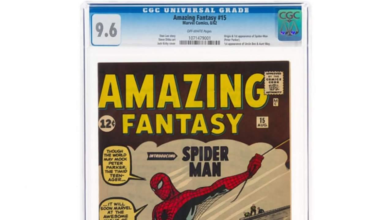 Rare Spider-Man comic book scores huge bid days before auction