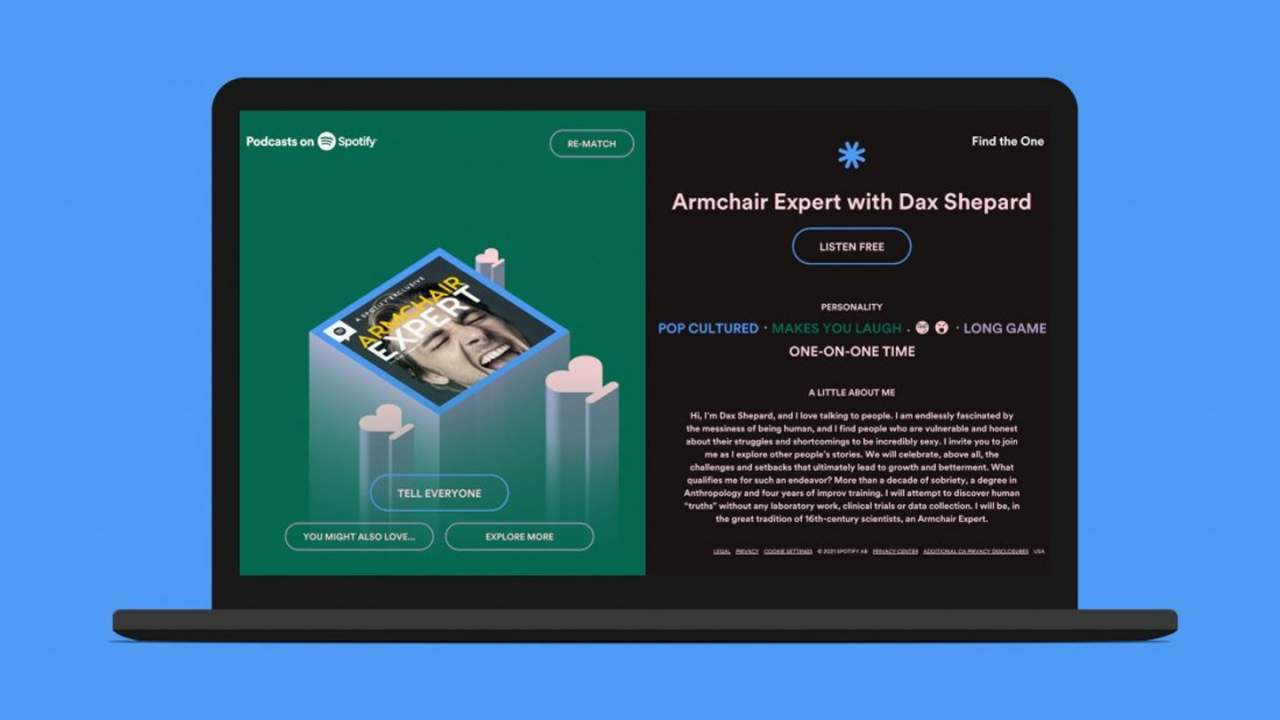 Spotify quiz uses algorithms to recommend the perfect podcasts